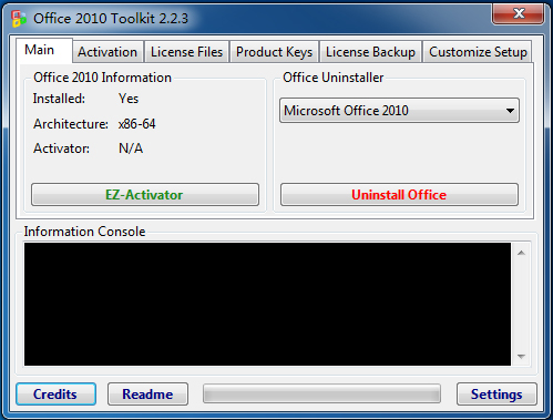 Office 2010 Toolkit(office 2010激活工具) V2.2.3 绿色版